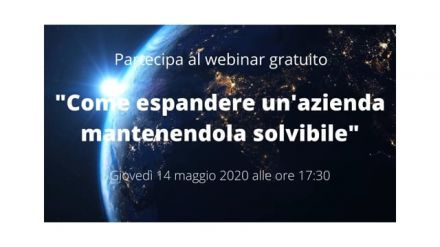 "Promo video: webinar ""Come espandere un'azienda mantenendola solvibile"""